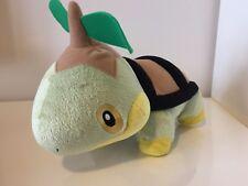 "Pokemon Turtwig 7"" Tall 10"" Long Plush Toy Figure with Sounds Jakks Pacific"