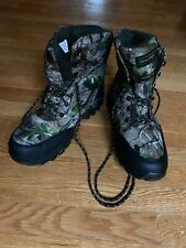 Realtree Waterproof Hunting Boots 400 gram Thinsulate Ultra Size 12