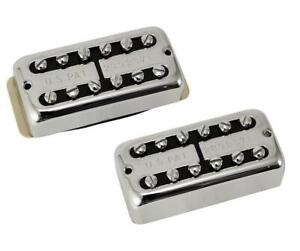 Gretsch® Filtertron Bridge & Neck Pickup Set~Nickel~Bezels Included~Brand New