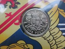 """2015 UK £1 coin The ROYAL ARMS. """"A Heraldic Celebration"""" sealed pack!!"""