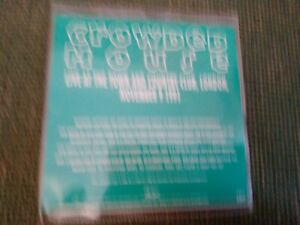 CROWDED HOUSE '' LIVE'' PROMO CD