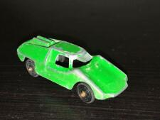 Tootsie Toy Fiat Abarth - Green Diecast Car.  Light Wear