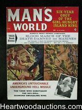 Man's World Feb 1963 James Bama Cover, Kunstler, DeSoto