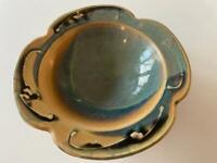 James Sankowski Signed Bowl Ballston Lake NY Studio Art Pottery Vtg Ceramic Exc
