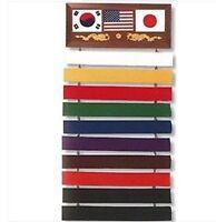 Verkaufsständer Gürtel Gürtel Belt Stand Karate Kampfkünste Obi Judo Taekwondo