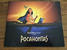 RARE DISNEY JUNE 16-22, 1995 CHICAGO THEATER  ENGAGEMENT OF POCAHONTAS PROGRAM