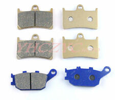 Front Rear Motor Brake Pads Set for YAMAHA FZ6 S2 ABS Naked FZ6N FZ6S 2007-2009
