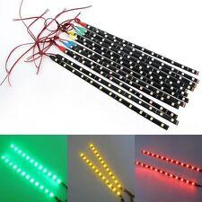 2x 12 LEDs 30cm 5050 SMD bande lumière LED étanche 12V bricolage voiture