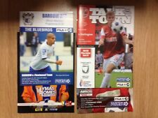 4 x Fleetwood Town Progs - H Darlington A Kettering Barrow & Mansfield