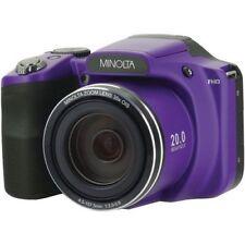 Minolta Mn35z-p 20-megapixel 1080p Full Hd Wi-fi Mn35z Bridge Camera With 35x