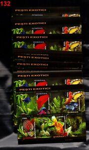 /// 100X ROMANIA 2005 - MNH - FISH - WHOLESALE