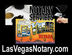 Las Vegas Notary .com Domain Name For Sale Sign Signature Website Customers  URL