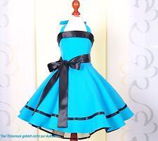 Mädchen Rockabilly Kleid zum Petticoat 50er Jahre Einschulung, Gr.104-152 türkis