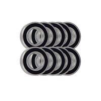 10 Pack - 6807 61807 35x47x7mm 2RS Bearings