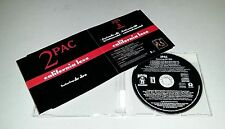 Single CD 2 Pac feat. Dr Dre - California Love  4.Tracks 1995 MCD SO 11