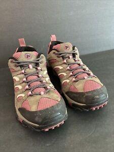 Merrell Womens J24464  Boulder/Blush Moab 2 Mid Waterproof Hiking Boot Size 10