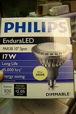 new philips 17PAR38/END/S10 3000 DIM 6/1 enduraled light bulb