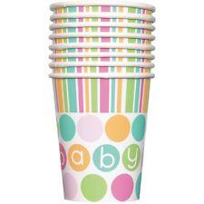 Confezione 8 Bicchieri  Carta , Baby Shower Nascita PS 11132