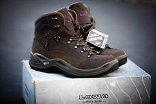 Brand New Lowa Womens Renegade GTX Mid Boots Vibram Gortex Slate/BlackBerry Sz 9