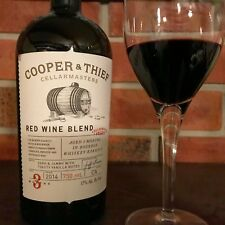 Cooper and Thief Bourbon Barreled Red Blend will Steal your Heart!  *12 BOTTLES*