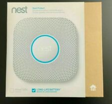 New Google - Nest Protect 2nd Generation Smart Smoke/Carbon Monoxide Wired Alarm