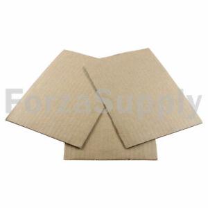 200 5x7  EcoSwift  Brand Corrugated Cardboard Pads Filler Insert Sheets 5  X 7