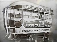 RPPC - Horse Car - Central Park - New York City