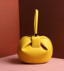 Women Purse Royal Wedding Bag Celebrity Demi Nina Genuine Leather Handbag Tote
