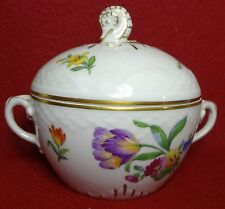 BING & Grondahl Denmark China SAXON FLOWER Cream pattern Sugar Bowl #94 - 4-1/2""