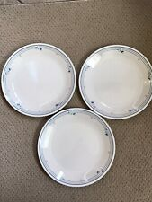 """Corelle Country Violets   3 Dinner Plates  10.25"""""""