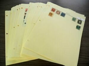 BRAZIL,  Excellent Stamp Collection hinged on pages