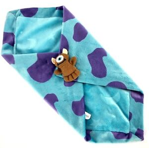 Lovie Minkie Blanket Monsters Inc. Teddy Monster Little Mikey Boo Sully Disney