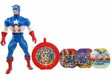 1984 Mattel Marvel Super Heroes Secret Wars CAPTAIN AMERICA Complete Very NICE