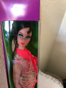 Vintage Talking Barbie New In Box W/stand  #1115  1969 DOES NOT TALK