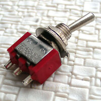 20 pcs Electric Toggle Switch SPDT On-Centre Off-On