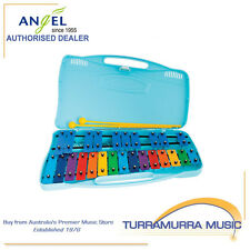 Angel Chromatic 25 Note Glockenspiel with Blue Plastic Case & Beaters - AG25N2