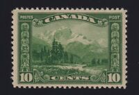 Canada Sc #155 (1928) 10c green Mount Hurd Mint VF NH MNH
