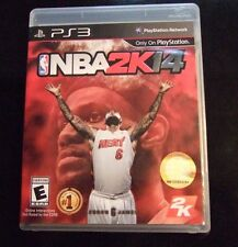 Replacement Case (NO GAME) NBA 2K14 PLAYSTATION 3 PS3