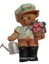 CHERISHED TEDDIES  CEDRIC - In the Garden,  Part of the U.S. Membearship Issue
