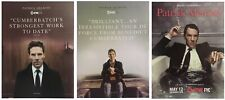 Benedict Cumberbatch PATRICK MELROSE For Your Consideration Emmy Ad SET OF 3