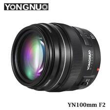 YONGNUO YN100mm F2 AF/MF Objektiv Teleobjektiv Lens für Canon 80D 70D 650D DE
