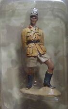 Del Prado King & Country WW2 German Afrika Korps Officer General 1942 1/30