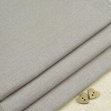 Robert Kaufman Essex Pewter Grey Linen Blend Fabric / dressmaking quilting