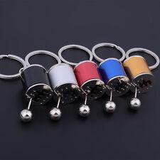Cool Metal Gear Box Shifter Model Mini Key Chain Fob Ring Keychain Ornament AU