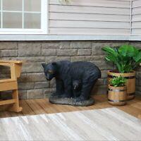 "Sunnydaze Outdoor Garden Statue Mama Bear and Cub Rustic Yard Patio Decor - 21"""