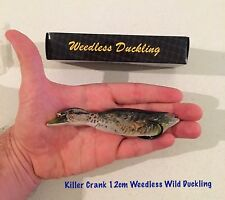 New Killer Crank 12cm Wild Weedless Surface Duck Murray Cod/Bass Fishing Lure