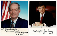 US Political Representatives Autograph Lot of SIX 8x10 photos!