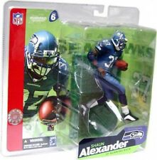 NFL Sports Picks Series 6 Shaun Alexander Action Figure [Blue Jersey Blue Pants]