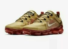 Nike Air Vapormax 2019 Gold Red Cream Men's Running Shoes 9.5 100% Authentic