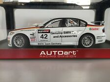 1:18 AUTOart BMW 320Si WTCC '06 GERMANY #42 80647